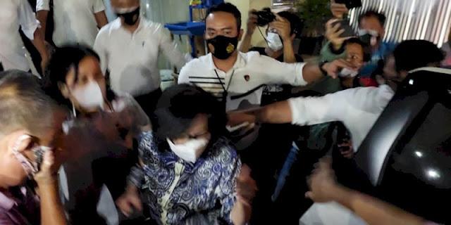 7 Jam di Mapolda Sumsel, Prof Hardi dan Heryanti Lanjutkan Pemeriksaan Hari Ini