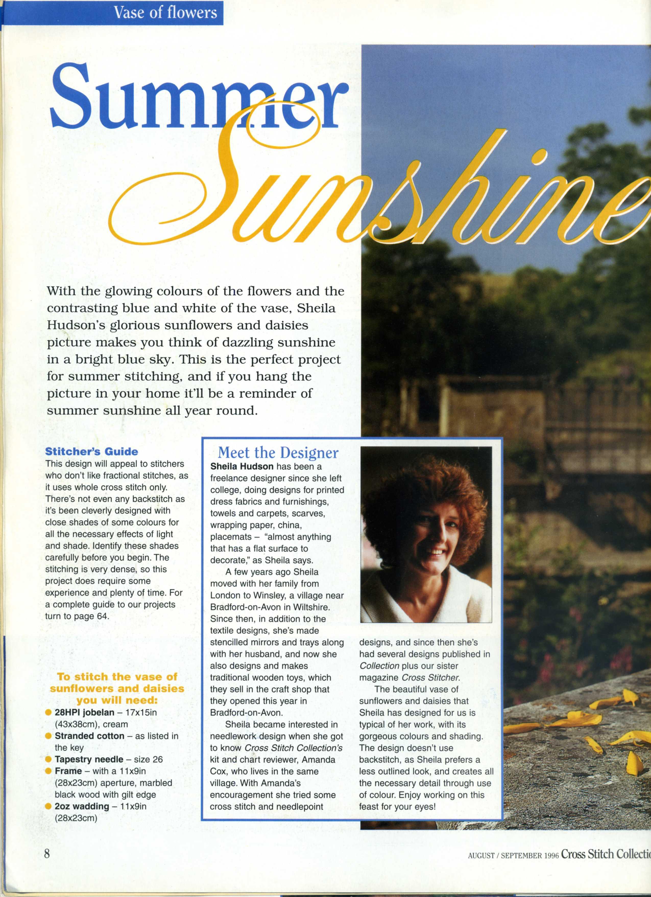 Cross Stitch collection - Summer sunshine (7)