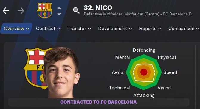 Football Manager 2021 - Nico | FM21