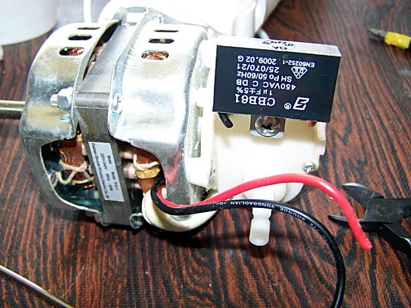 Schema Elettrico Ventilatore Velocità : Mytech ventilatore v c riparato