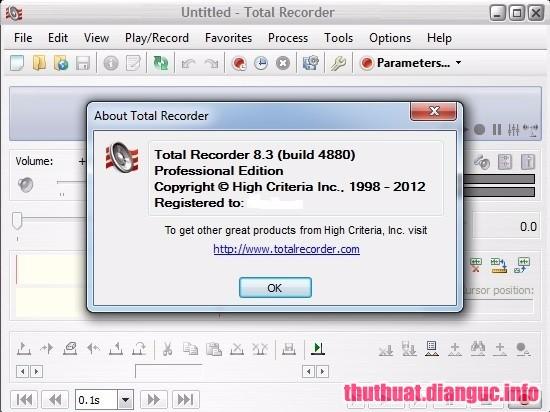 Download Total Recorder 8.6 Build 7190 Full Cr@ck