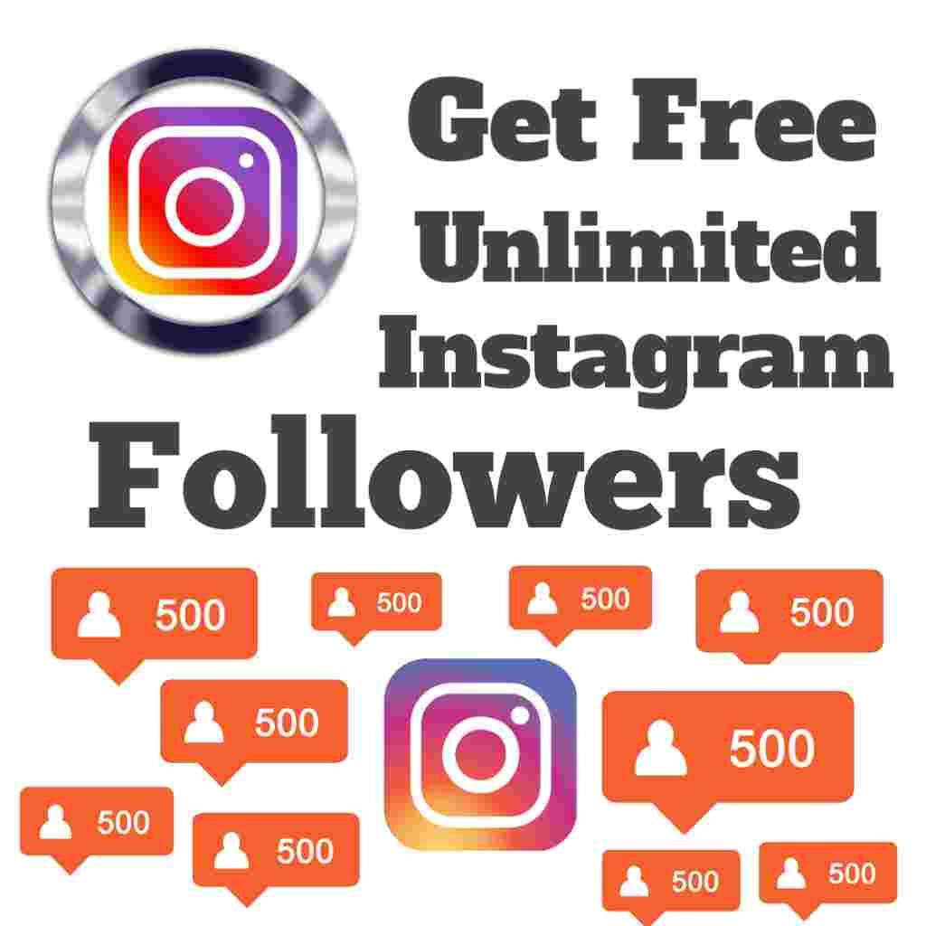 Get Free Unlimited Instagram Followers Instantly! - Bigloottricks