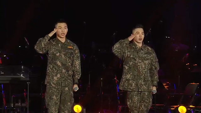 Taeyang & Daesung for Korea Provisional Government 100th Anniversary Concert