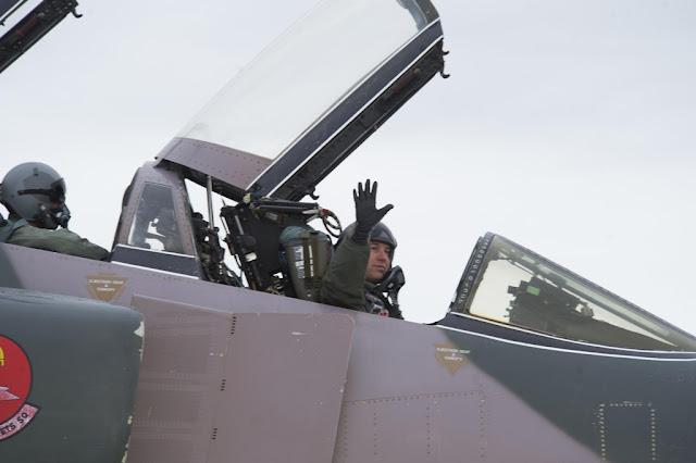 FINAL FLIGHT FAREWELLS USAF PHANTOM