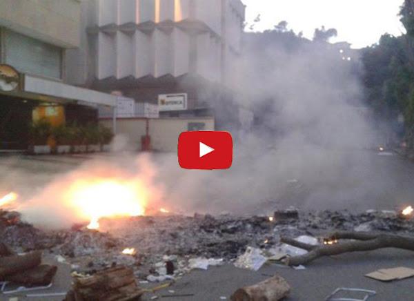 Intentan quemar la CANTV de La Trinidad por su mal servicio