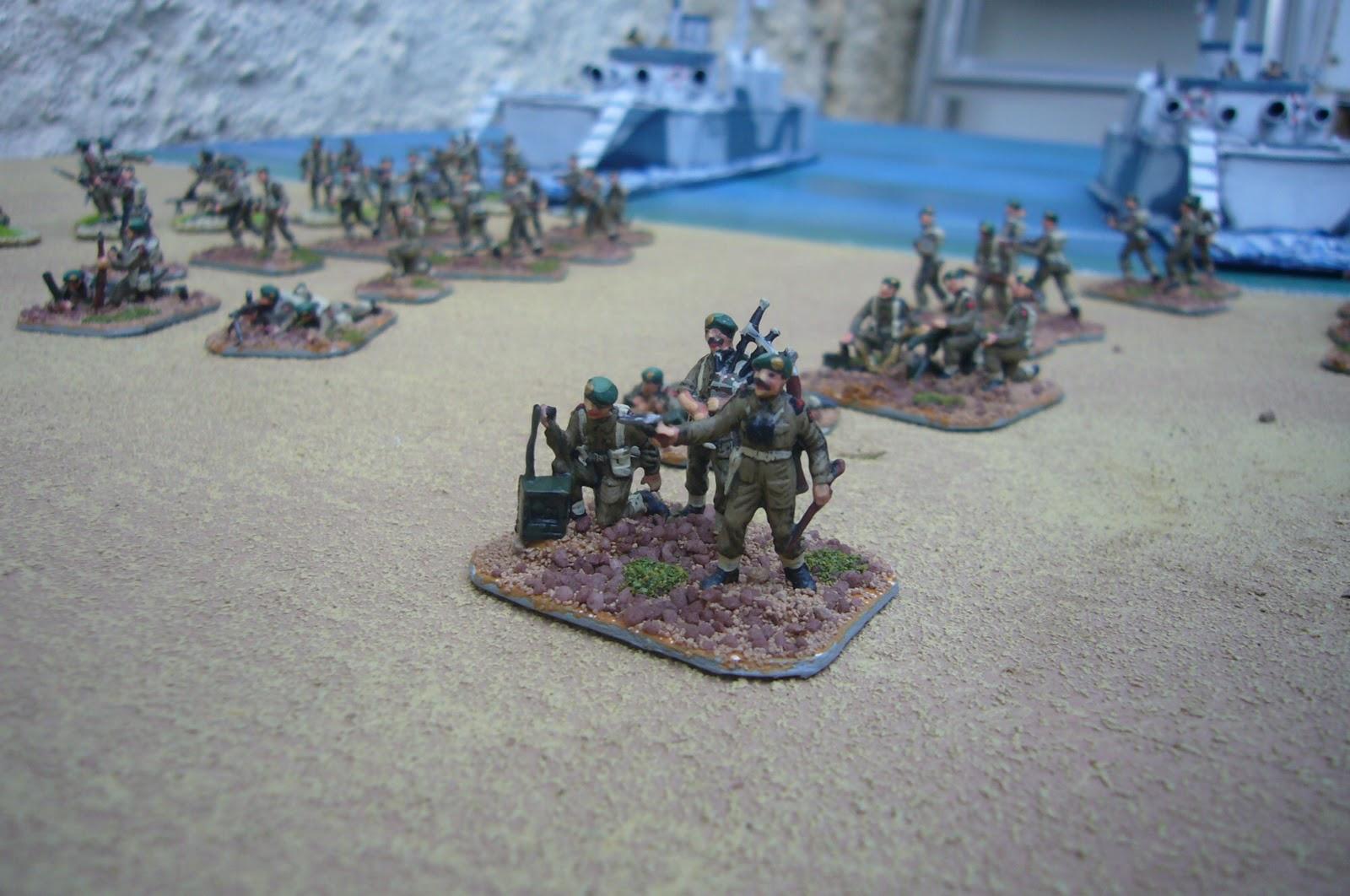 commando brigade landing craft sword beach