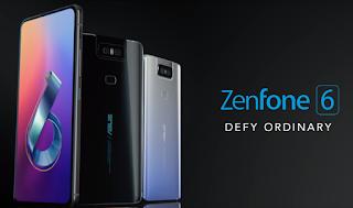Flip-up camera Asus Zenfone 6