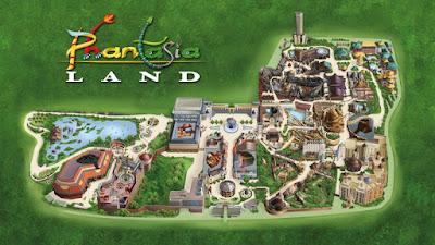 Mapa Parque Phantasialand
