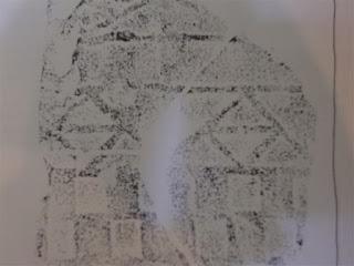 東勝寺跡の平瓦