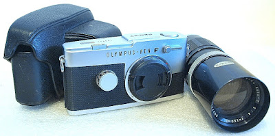 Olympus Pen FT (Chrome) Body #623
