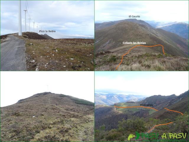 Sierra de Begega: Pistas del Parque eólico y bajada a Modreiros