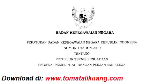 peraturan bkn nomor 1 tahun 2019 tentang petunjuk teknis juknis pengadaan pppk p3k pdf tomatalikuang.com