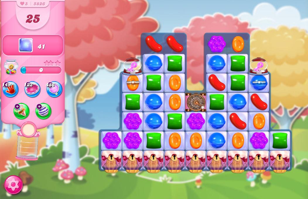 Candy Crush Saga level 5826
