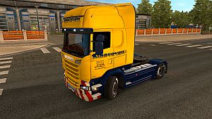 Ainscough skin for Scania Streamline