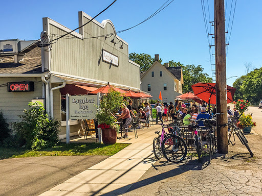 The Lumber Inn Restaurant along the Lake Country Trail in Delafield WI