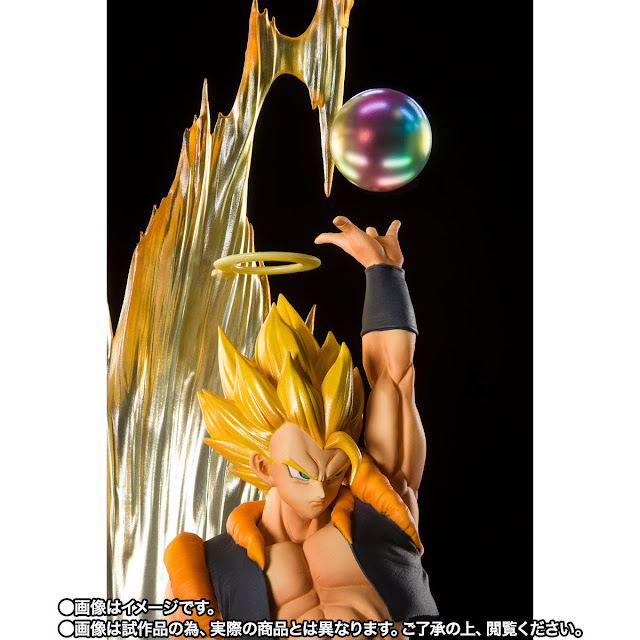 Figuarts Zero Super Saiyan Gogeta Fusion Reborn de Dragon Ball Z - Tamashii Nations