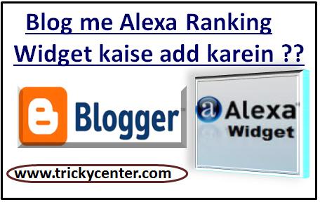 Alexa Ranking widget for blogger