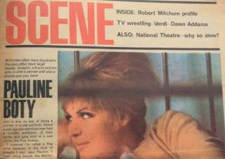 Pauline Boty in Scene Magazine
