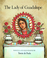 http://www.amazon.com/The-Lady-Guadalupe-Tomie-dePaola/dp/082340403X
