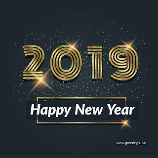 Sparkling 2019 images New year download free