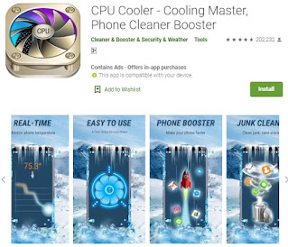 cpu cooling smartphone