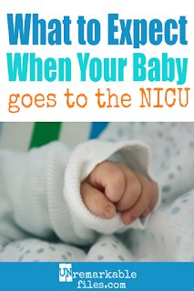 I never thought I'd be a NICU mom, but then again: who does? There are hardly words to describe your thoughts and emotions when your newborn is a preemie in the hospital NICU, but reading articles with stories like mine let me know I wasn't the only one going through it. Here I share our NICU journey, as well as my number one tip for adapting to life as a NICU mother. #nicu #nicustories #nicusurvival #preemie #unremarkablefiles