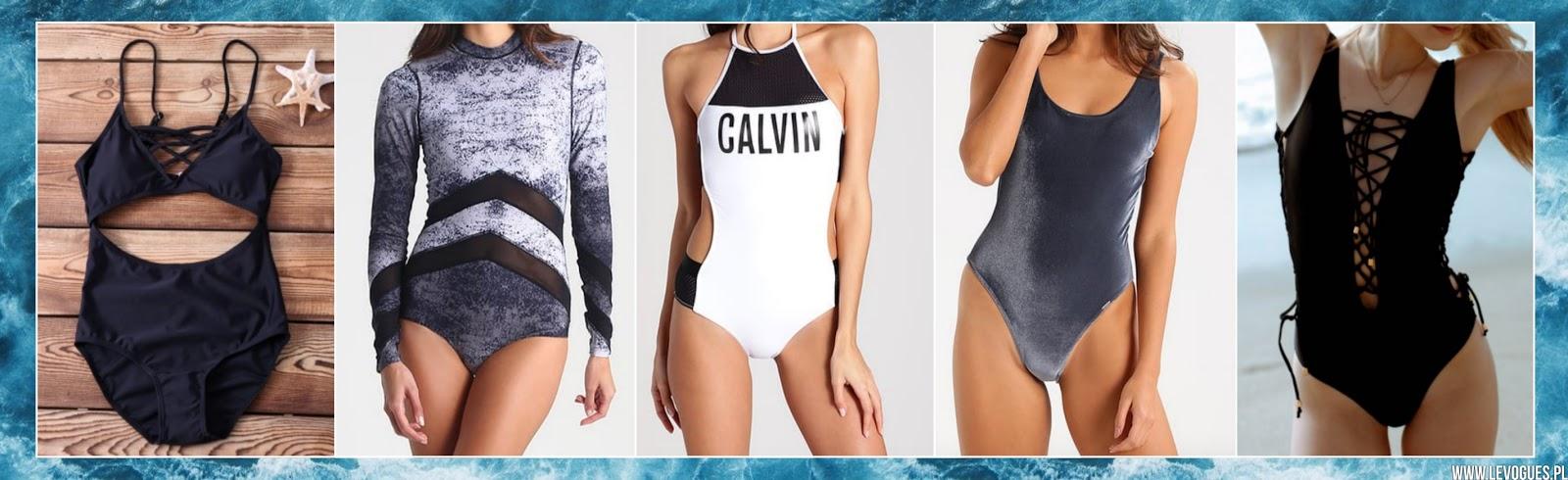 jednoczęściowe stroje kąpielowe lato 2017 trendy
