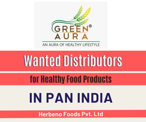 Wanted Distributors for Healthy Products in Pan India