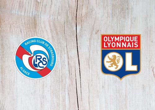 Strasbourg vs Olympique Lyonnais -Highlights 18 October 2020