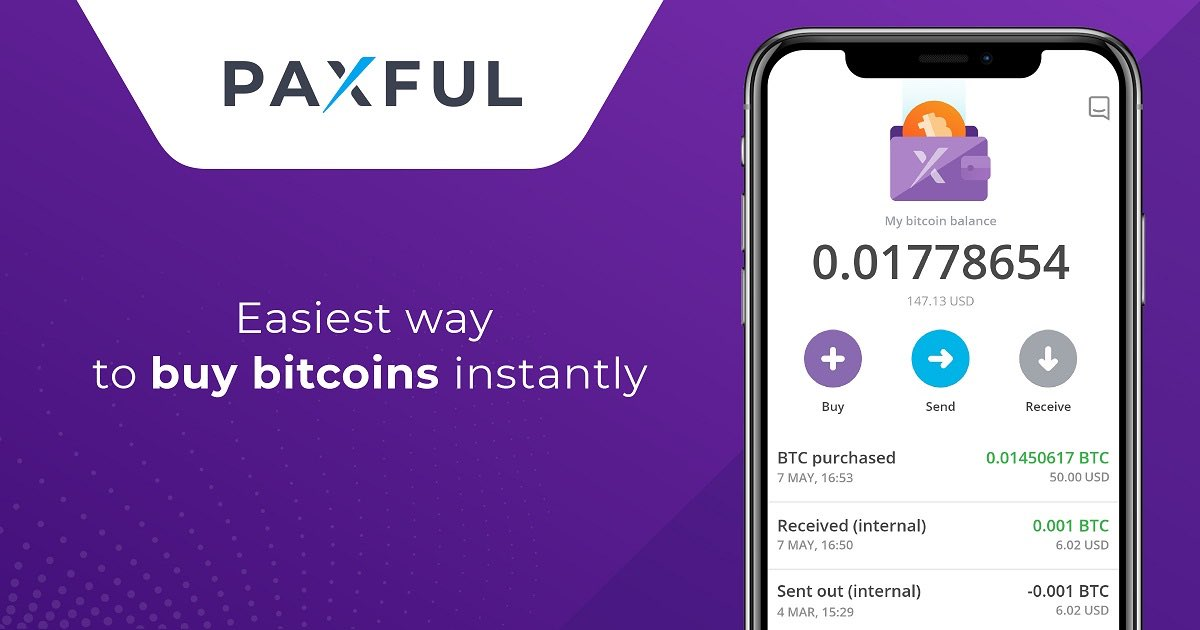 Paxful: Buy/Sell Bitcoin In INR