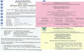 Legalitas Dari Sabun Transparan ADEV Natural