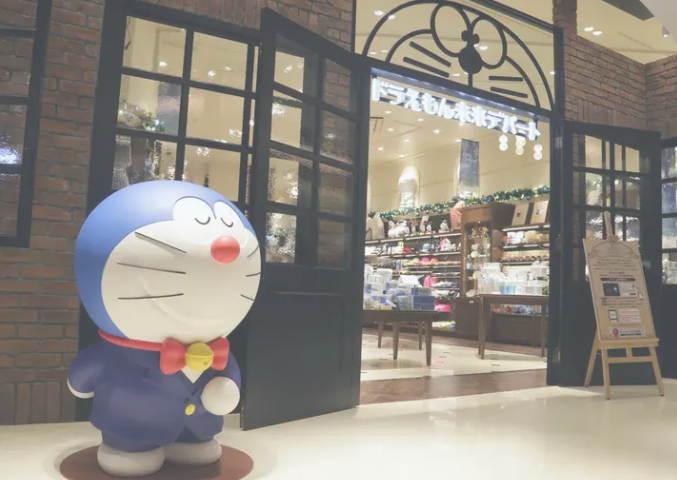 Doraemon Store Pertama di Dunia Dibuka di Tokyo