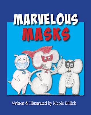 Face masks aren't just for COVID-19. Read Marvelous Masks by Nicole Billick to learn about the types of masks people wear and why they wear them!