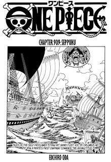 Update! Baca Manga One Piece Chapter 909 Full Sub Indo