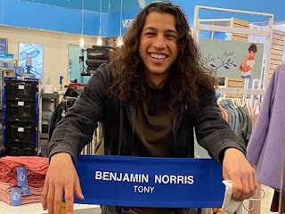 American actor, Benjamin Norris