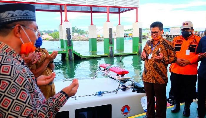 Gubernur Resmikan Speed 01 dan 02 BPBD Kaltara