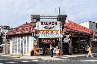 Ketchikan,  克奇坎, 凱奇坎, Salmon Market