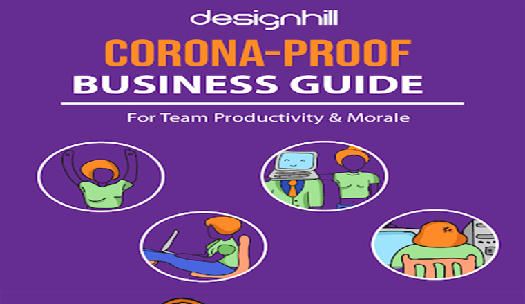 Corona-Proof Business Guide For Team Productivity & Morale #infographic