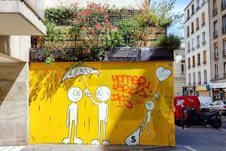 Sunday Street Art : Anonyme - rue du Mont-Cenis - Paris 18