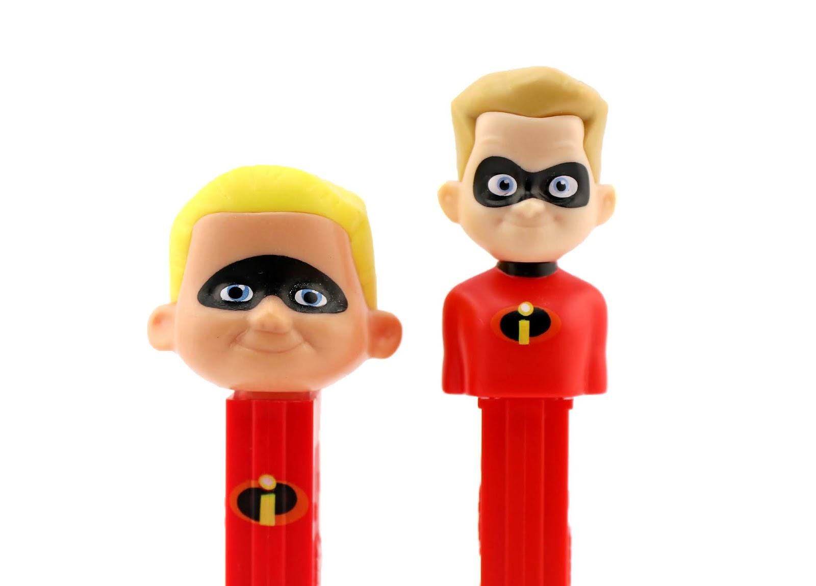 Incredibles 2 PEZ dash comparison