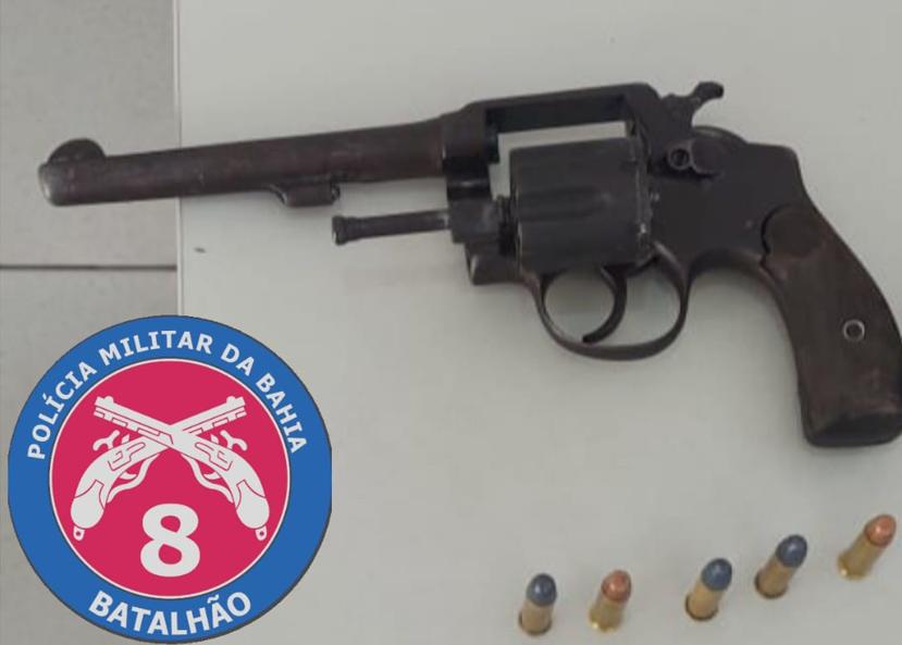 Suspeito de assalto a relojoaria no centro foi preso com arma