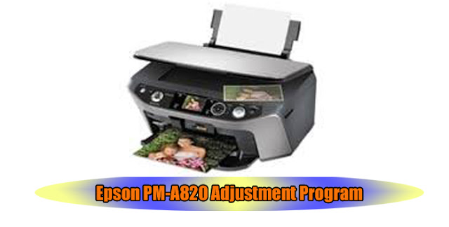 Epson PM-A820 Printer Adjustment Program