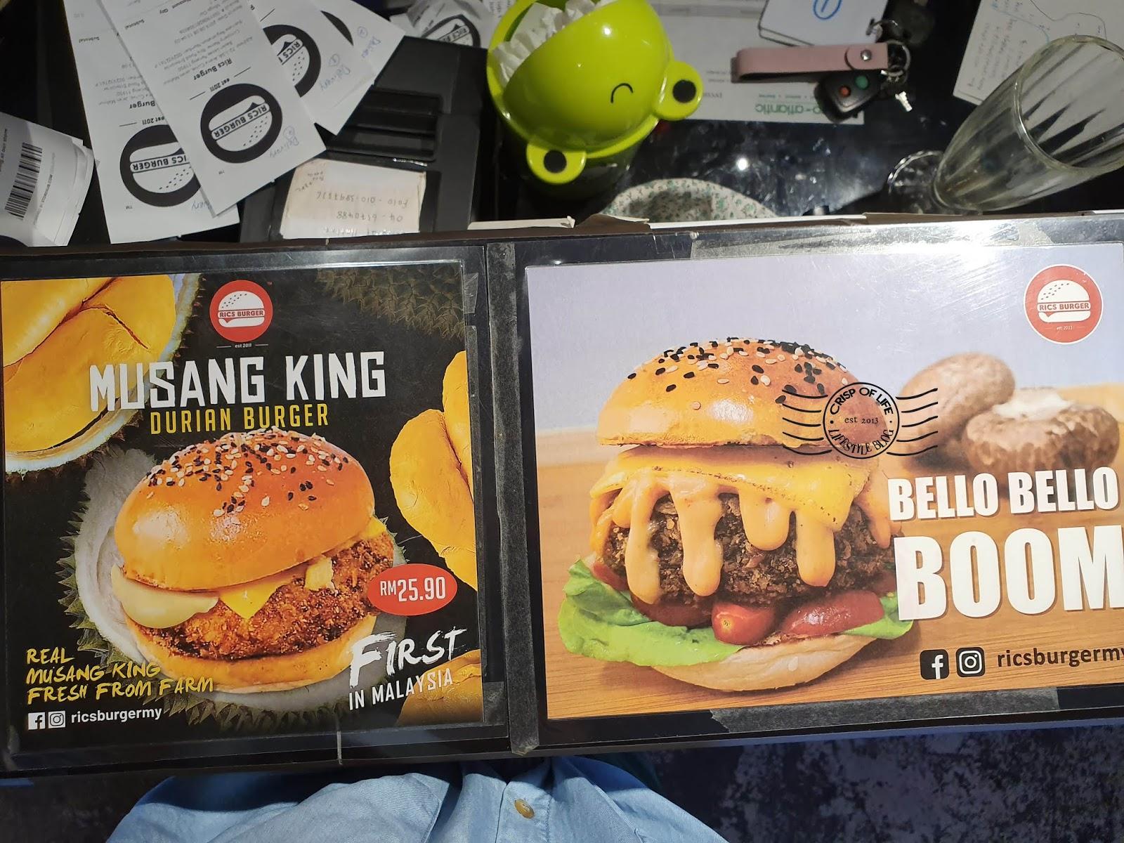 Rics Burger @ Arena Curve, Bayan Lepas, Penang