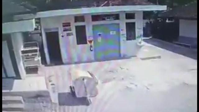 Geger #rabuambyar, Video Gerobak Jalan Sendiri di RS Gunungkidul