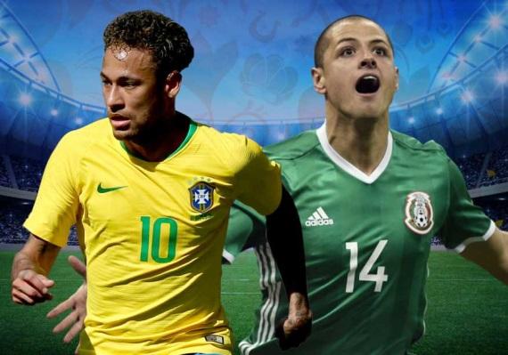 Prediksi Brazil vs Meksiko, 02 Juli 2018