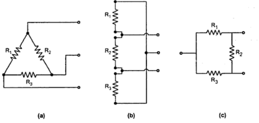 Star and Delta Connection of Resistances ~ your electrical