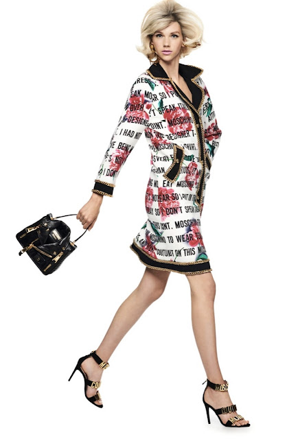 Moschino 1980s style power suit