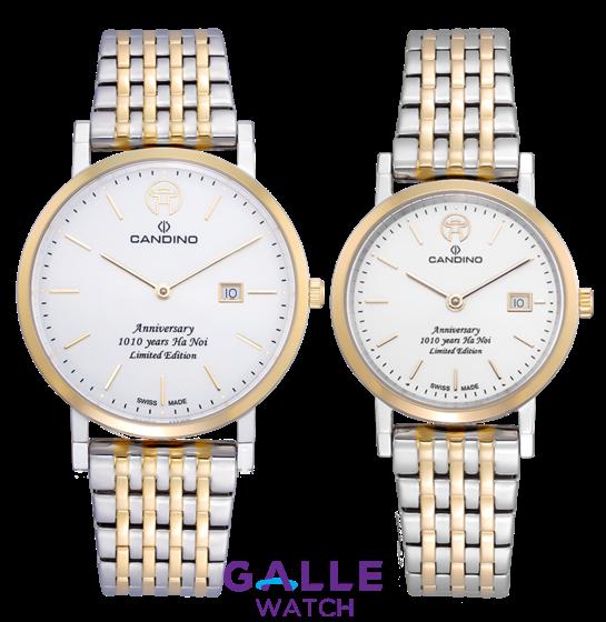 Đồng hồ đôi Candino 1010 Limited Edition C4732/1L + C4733/1L