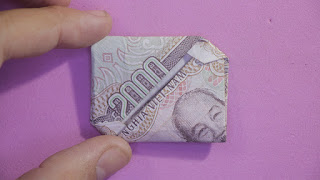 Hướng dẫn cách gấp bao thư bằng tiền giấy đẹp và đơn giản
