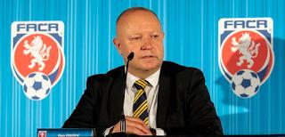 Fousek president Football Association of Czech Republic (FAČR)